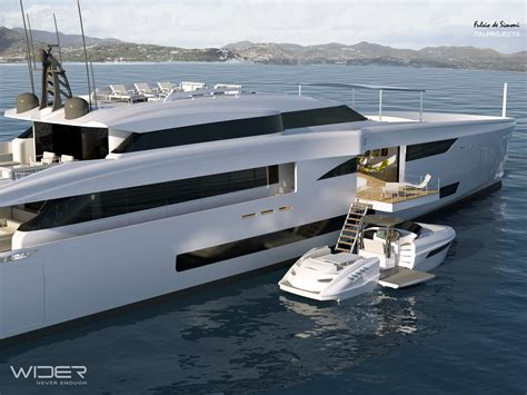 Yacht Tender by Wider 150 Superyacht With A 33 Wider Yacht Tender Yacht