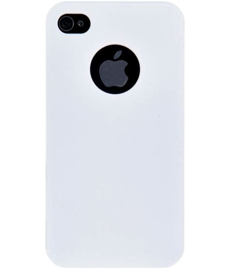 iphone feels iaccy iphone 4 4s feel for logo cutout white buy
