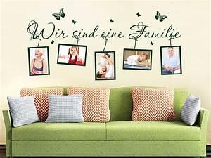 Wandtattoo Mit Bilderrahmen : wandtattoo fotorahmen familie bei ~ Bigdaddyawards.com Haus und Dekorationen