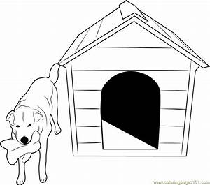 40+ [ Coloring Pictures Of Dogs With A Bone ] - Dog Bone