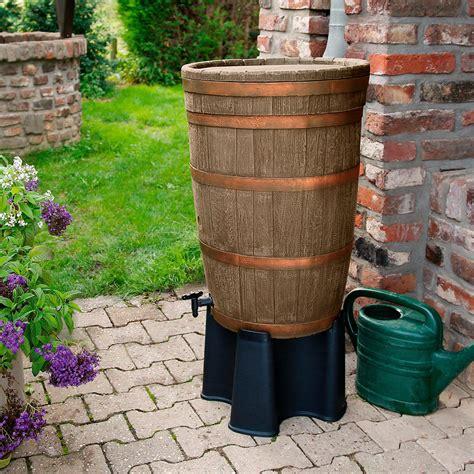 regentonne mit überlaufschutz regentonne barrique weinfass mit zubeh 246 r 120 liter kaufen bei g 228 rtner p 246 tschke