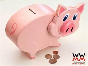 Make a wooden piggy bank Woodworking for Mere Mortals