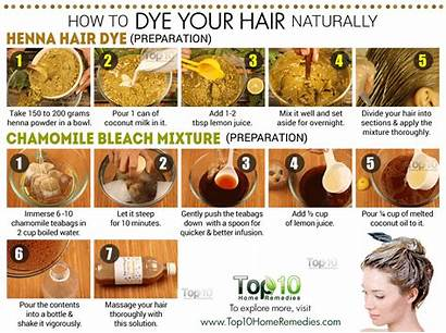 Dye Hair Naturally Natural Ways Without Remedies