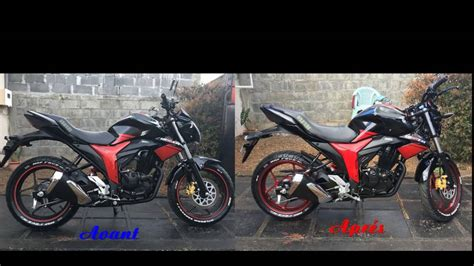 Modified Gixxer Bike by Suzuki Gixxer 155 Modified