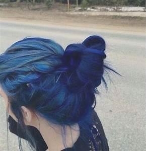 Blue hair - image #2736549 by marky on Favim.com