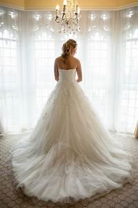 choosing a bridal train confetticouk With wedding dress train