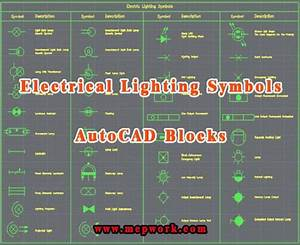 Autocad Lighting Symbols Free Download