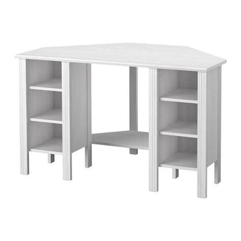 bureaux d angle ikea brusali corner desk white 120x73 cm ikea