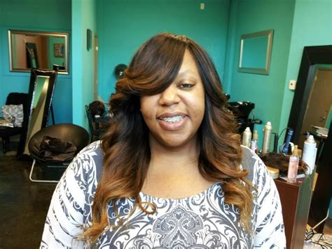 Full Sew In Weave With Ombré'
