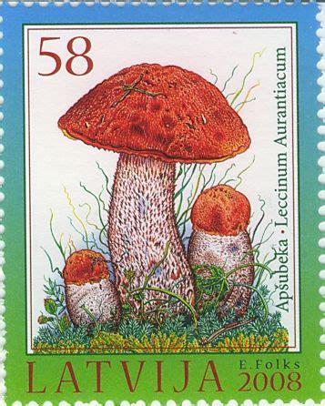 """2008.gadā pastmarku sēriju """"Latvijas mežu bagātības ..."""
