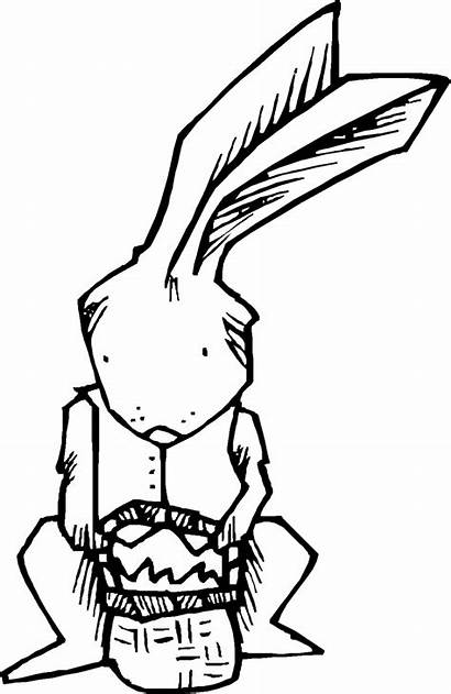 Coloring Easter Stuff Bunny Pages Fun Things