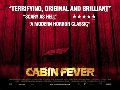 cabin fever    extra large  poster image