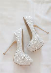 White Coconut Wedding Shoes