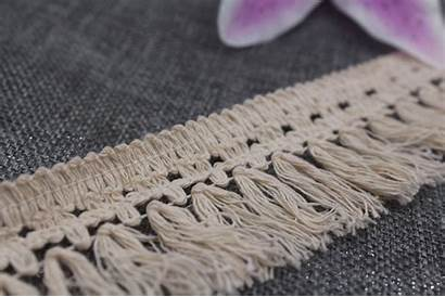 Sewing Fringe Trims Tassel Cotton Craft Accessory