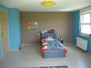 chambre garcon photo 1 1 voici la chambre de mon fils With awesome les couleurs qui se marient 8 chambre bebe fille