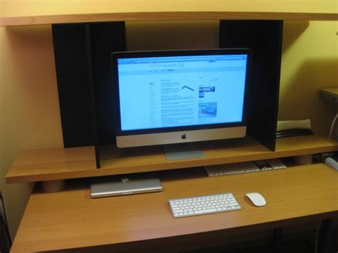 Monitor Shelf For Desk Ikea by Elevated Imac Monitor Shelf Ikea Hackers Ikea Hackers