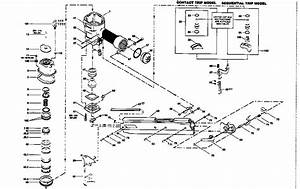 Stanley Bostitch Pneumatic Stick Nailer Parts