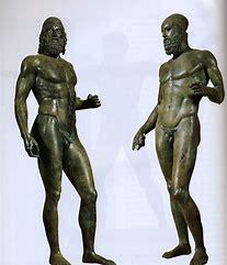 Risultato immagine per bronzi di riace