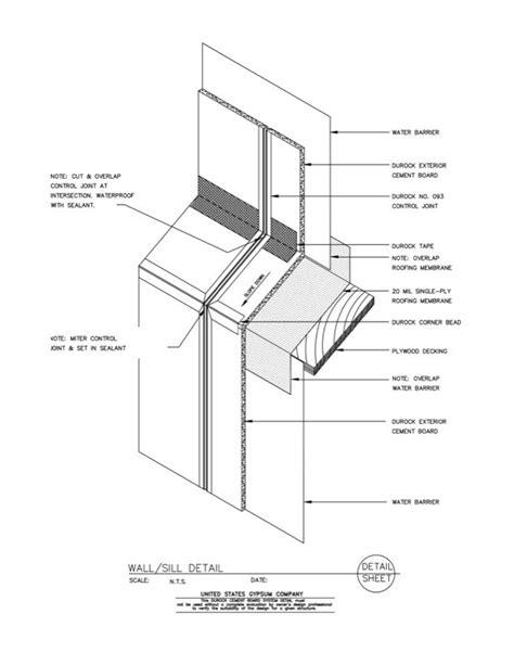 USG Design Studio | 09 21 16.03.109 DUROCK Isometric Wall