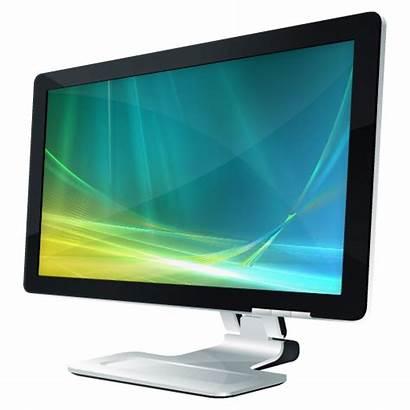 Monitor Screen Icons Icon Computer Display Ico