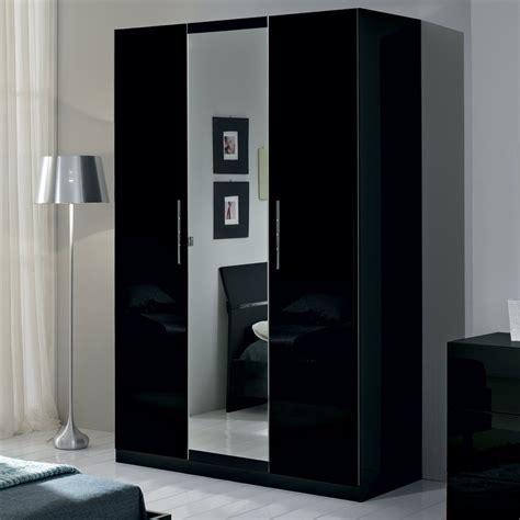 armoire chambre noir laqué armoire noir laque