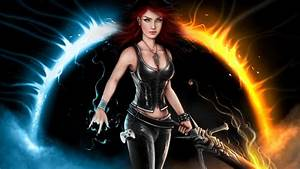 warrior, woman, desktop, wallpaper, for, mobile, phome, and