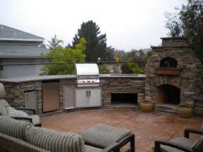 prefab outdoor kitchen grill islands custom arched outdoor kitchen w magic appliances