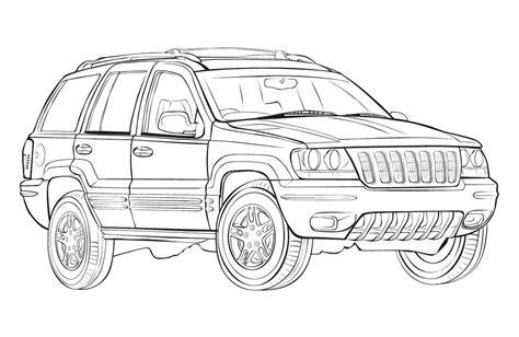 ausmalbilder jeep ausmalbilder von autos zum drucken