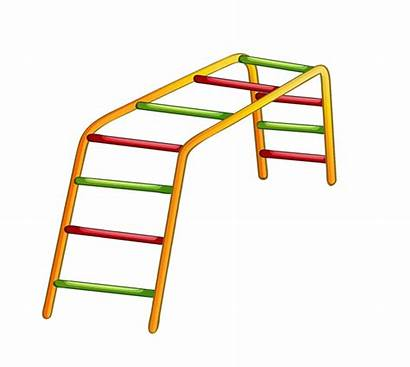 Clipart Playground Clip Ladder Park Swings Monkey