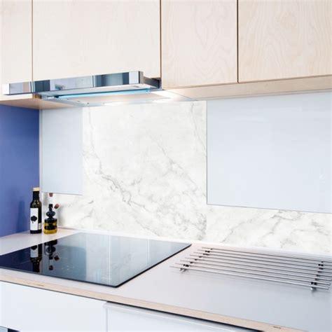 credence de cuisine adhesive en aluminium effet marbre