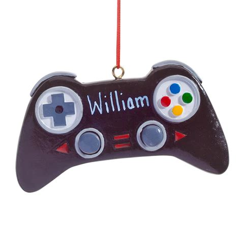 Personalized Video Game Controller Ornament Miles Kimball
