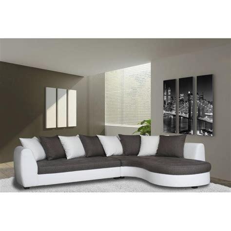 canap d angle blanc pas cher photos canapé d 39 angle gris et blanc pas cher