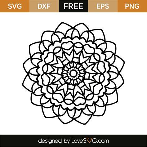 Love the shadowbox mandala design. Mandala | Lovesvg.com