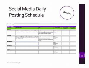 fancy media schedule template picture collection resume With social media posting calendar template