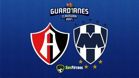Atlas vs Rayados de Monterrey: Horario y dónde ver el ...