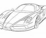 Ferrari sketch template