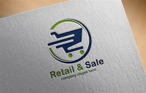 shopping logo design  psd template graphicsfamily