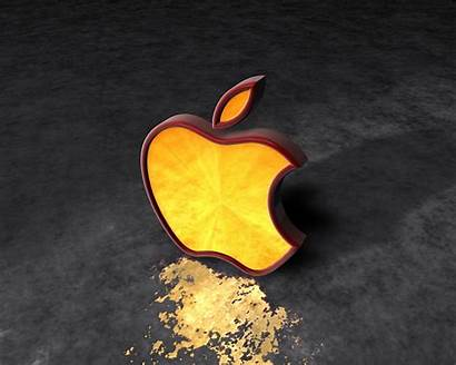 Apple Yellow Wallpapers Mac 3d Cool Iphone