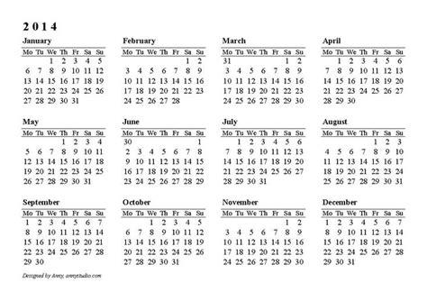 calendarlabs   printable yearly calendar