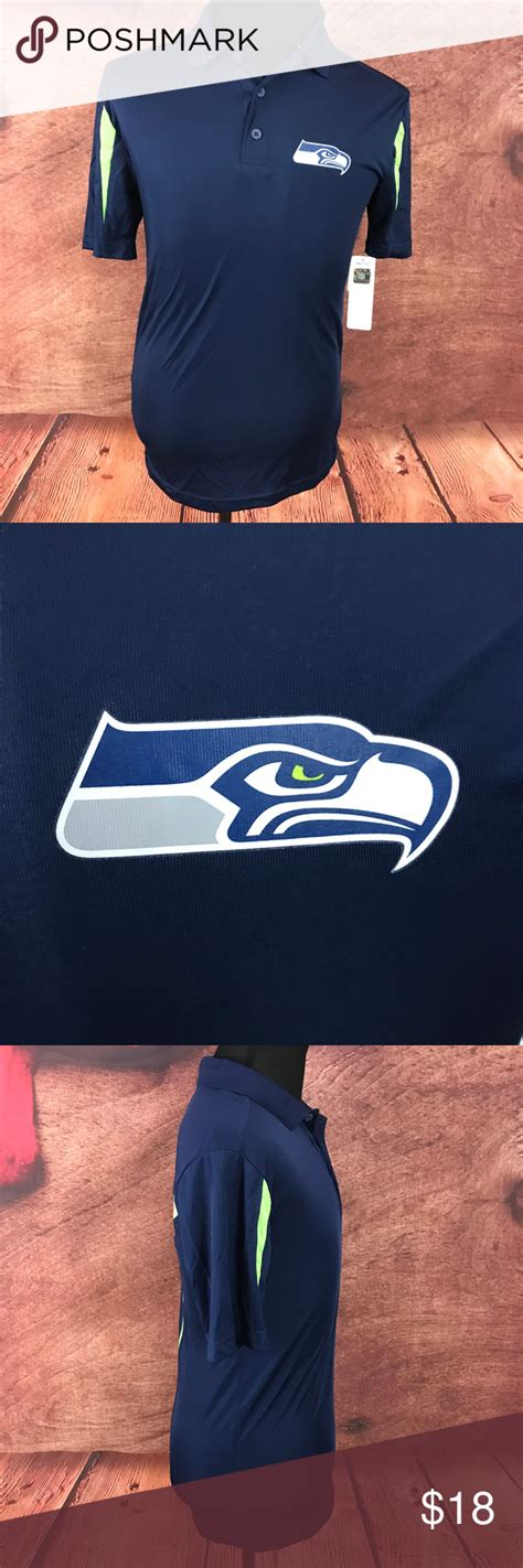 nfl seattle seahawks tx cool polo shirt nfl team apparel