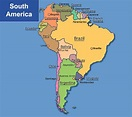 Map of South America (By: Chong Hui Jane) | GEOGRAPHY 7 OMEGA