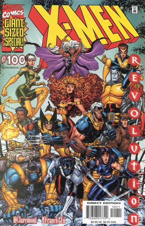 comics revolution issue marvel 2000s comic uncanny 2000 comicbookrealm 100a series lee lineups memorable squandered opportunities ten end books 1991