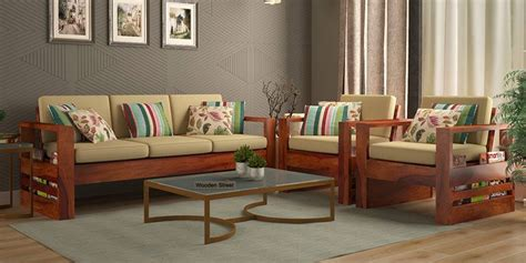 Wooden Sofa Set With Price by Wooden Sofa Set Buy Wooden Sofa Set In India Upto