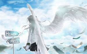 Anime Angel Wings Free Wallpaper | I HD Images