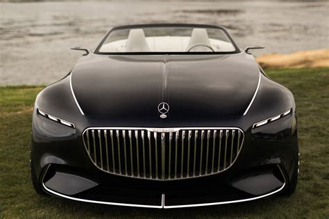 wallpaper vision mercedes maybach  cabriolet automotive