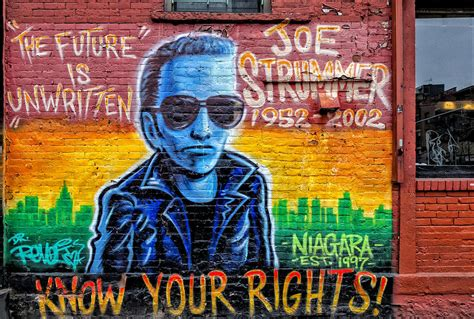 Joe Strummer Mural by Joe Strummer Mural Lower East Side Nyc Photograph By