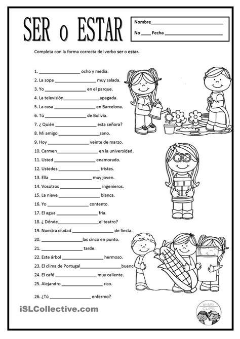 pre  spanish worksheets  ideas  spanish