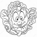 Cartoon Patch Colorir Repolho Coloring Cabbage Vegetal Desenhos Kool Eco Emoticon Vegetable Animados Feliz Couve Desenho Imagens Lettuce Animado Personagem sketch template