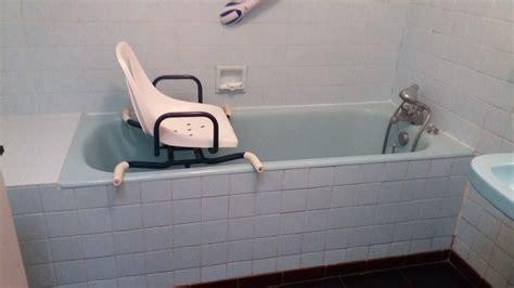siege baignoire pour personne agee ouverture de baignoire avec installation d 39 un siège de