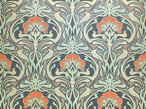 Art Nouveau Floral Pattern M1196